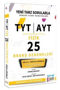 Yargı Lemma TYT AYT Fizik Video Çözümlü 25 Branş Denemeleri