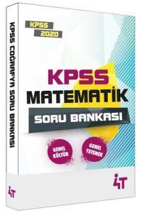 4T Yayınları 2020 KPSS Matematik Soru Bankası