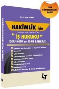 4T Yayınları Hakimlik İçin İş Hukuku Ders Notu ve Soru Bankası