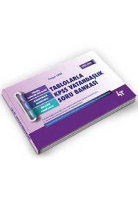 4T Yayınları Tablolarla KPSS Vatandaşlık Soru Bankası