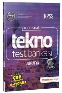 Uzman KPSS Tekno Coğrafya Test Bankası 2019