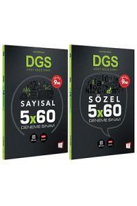 657 DGS Sayısal ve Sözel 5x60 Deneme 2 li Set