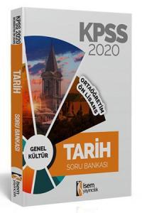 İsem Yayıncılık 2020 KPSS Ortaöğretim Ön Lisans Tarih Tamamı Çözümlü Soru Bankası