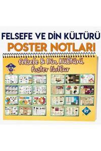 Kr Akademi TYT Felsefe ve Din Kültürü Poster Notlar