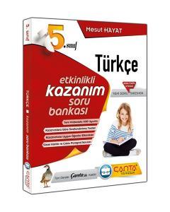 Çanta 5. Sınıf Türkçe Etkinlikli Kazanım Soru Bankası