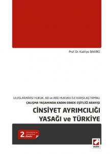 Cinsiyet Ayrımcılığı Yasağı ve Türkiye