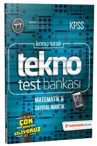 Uzman KPSS Tekno Matematik & Sayısal Mantık Test Bankası 2019