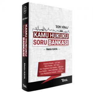 Kamu Hukuku Soru Bankası 'Son Viraj'