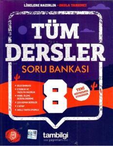 Tambilgi Yayınları 8. Sınıf Tüm Dersler Soru Bankası