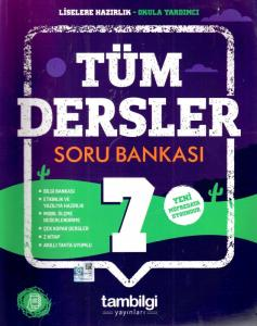 Tambilgi Yayınları 7. Sınıf Tüm Dersler Soru Bankası