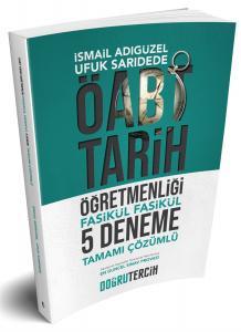 Doğru Tercih Yayınları ÖABT Tarih Öğretmenliği Tamamı Çözümlü 5 Fasikül Deneme