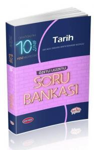 Editör Yayınları 10. Sınıf VIP Tarih Özetli Lezzetli Soru Bankası