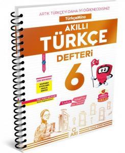 Arı Yayıncılık 6.Sınıf Türkçemino Akıllı Türkçe Defteri