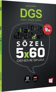 657 Yayınları DGS Sözel 5x60 Deneme Sınavı