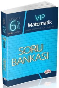 Editör 6. Sınıf VIP Matematik Soru Bankası