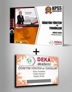 Deka Akademi KPSS Eğitim Bilimleri Öğretim Yöntem ve Teknikleri Etkin Videolu Ders Notları