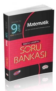 Editör Yayınları 9. Sınıf VIP Matematik Özetli Lezzetli Soru Bankası