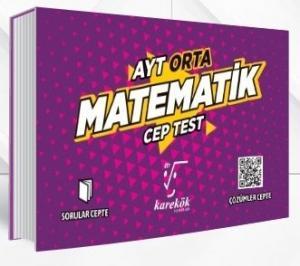 Karekök Yayınları AYT Matematik Orta Cep Test