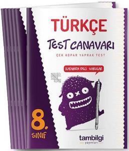 Tambilgi Yayınları 8. Sınıf Türkçe Yaprak Test