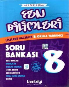 Tambilgi Yayınları 8. Sınıf Fen Bilimleri Soru Bankası