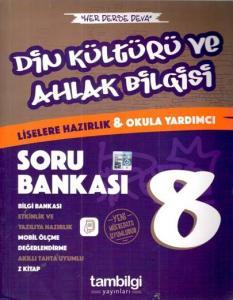 Tambilgi Yayınları 8. Sınıf Din Kültürü ve Ahlak Bilgisi Konu Özetli Soru Bankası