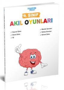 Akıllı Adam Yayınları 4. Sınıf Akıl Oyunları