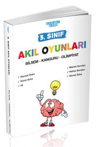 Akıllı Adam Yayınları 3. Sınıf Akıl Oyunları Bilsem Kanguru Olimpiyat