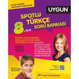 Sadık Uygun Yayınları 8. Sınıf Fen Bilimleri Spotlu Soru Bankası