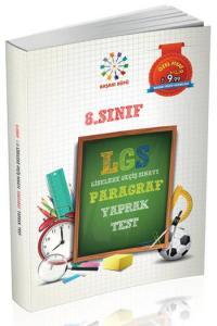 8. Sınıf LGS Paragraf Yaprak Test - Başarı Küpü Yayınları