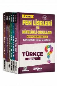Ankara Yayıncılık 8. Sınıf Tüm Dersler Konu Anlatımlı Modüler Set