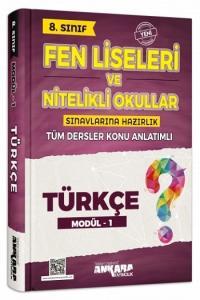Ankara Yayıncılık 8. Sınıf Türkçe Konu Anlatımlı Modül 1