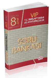Editör 8. Sınıf VIP TC İnkılap Tarihi ve Atatürkçülük Soru Bankası