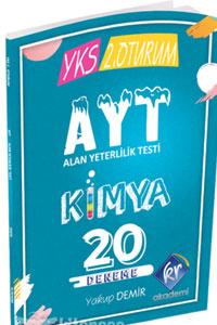KR Akademi YKS AYT Kimya 20 Deneme