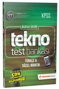 Uzman KPSS Tekno Türkçe & Sözel Mantık Test Bankası 2019