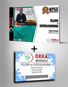 Deka Akademi KPSS Eğitim Bilimleri Ölçme ve Değerlendirme Etkin Videolu Ders Notları