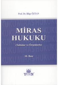 Miras Hukuku  Bilge Öztan