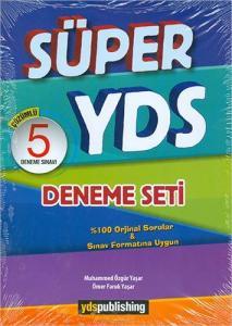 Ydspublishing Yayınları Süper YDS Çözümlü 5 Deneme Seti