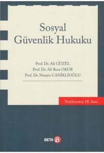 Sosyal Güvenlik Hukuku Ali Güzel