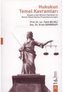 Hukukun Temel Kavramları  Fatih Bilgili