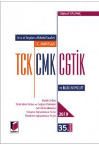 T.C. Anayasası TCK, CMK, CGTİK ve İlgili Mevzuat (Cep Boy - Adalet )