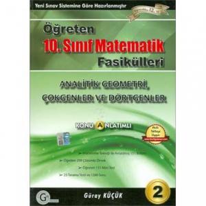 Gür 10.Sınıf Matematik Analitik Geometri, Çokgenler ve Dörgenler