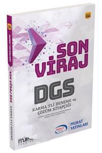 Murat Eğitim DGS Son Viraj Karma 5 li Deneme Seti ve Çözümleri
