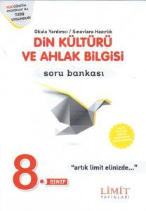 Limit 8. Sınıf Din Kültürü ve Ahlak Bilgisi Soru Bankası