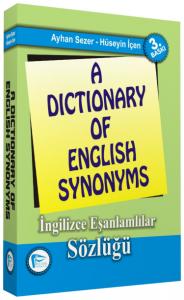 A Dictionary of English Synonyms - İngilizce Eşanlamlılar Sözlüğü