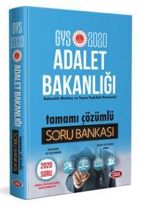 Data Yayınları 2020 GYS Adalet Bakanlığı Tamamı Çözümlü Soru Bankası
