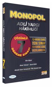 Monopol Yayınları Adli Yargı Hakimliği Tamamı Çözümlü 7 Deneme Sınavı