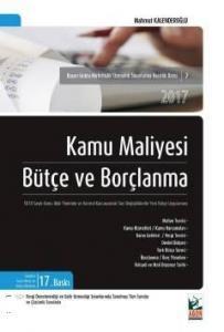 Agon Kamu Maliyesi Bütçe ve Borçlanma - Mahmut Kalenderoğlu