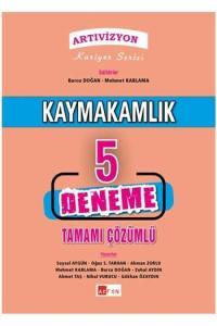 Akfon Yayınları Artıvizyon Kaymakamlık Tamamı Çözümlü 5 Deneme