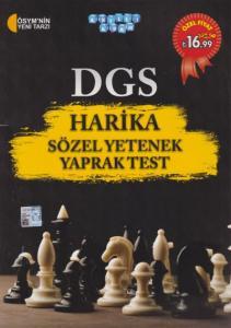 Akıllı Adam DGS Harika Sözel Yetenek Yaprak Test