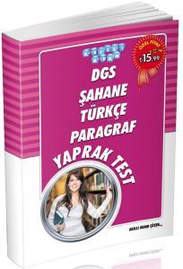 Akıllı Adam DGS Şahane Türkçe Paragraf Yaprak Test